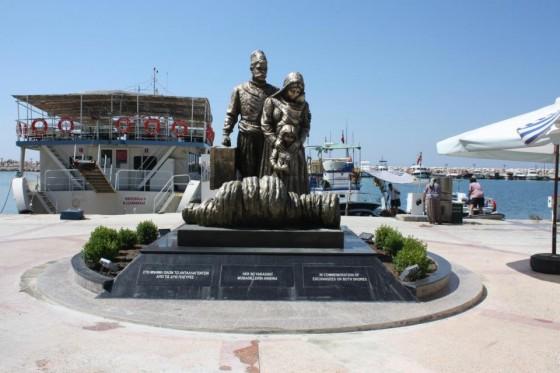 mubadele anıtı